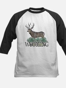 Wyoming buck Tee