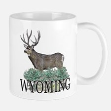 Wyoming buck Mug