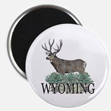 "Wyoming buck 2.25"" Magnet (100 pack)"