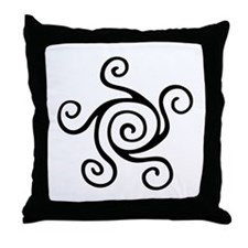 Celtic Symbol Throw Pillow