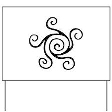 Celtic Symbol Yard Sign