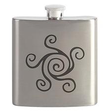 Celtic Symbol Flask