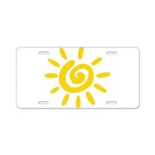 Sunshine Aluminum License Plate