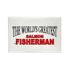 """The World's Greatest Salmon Fisherman"" Rectangle"