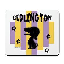 Bedlington Terrier Stripe Mousepad