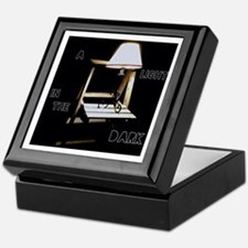 A Light in the Dark Keepsake Box