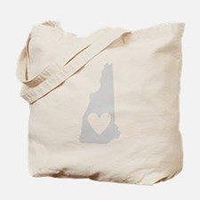 Heart New Hampshire Tote Bag
