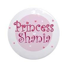 Shania Ornament (Round)