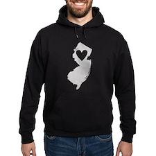 Heart New Jersey Hoodie