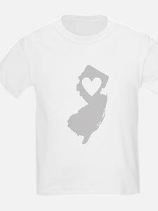 Heart New Jersey T-Shirt