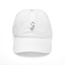 Heart New Jersey Baseball Cap
