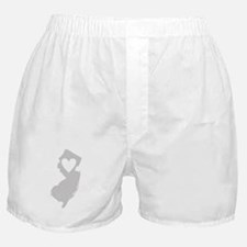 Heart New Jersey Boxer Shorts