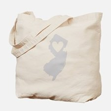 Heart New Jersey Tote Bag