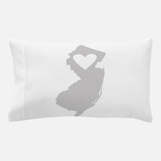 Heart New Jersey Pillow Case