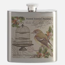 modern vintage winter garden bird and birdcage Fla