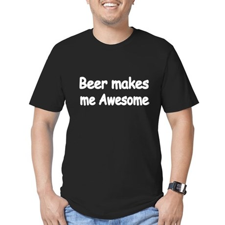 BEER MAKES ME AWESOME 2 T-Shirt