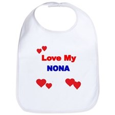 LOVE MY NONA Bib