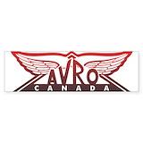 Avro arrow Bumper Stickers