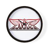 Avro arrow Wall Clocks