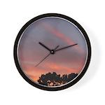 American Sunset Clock