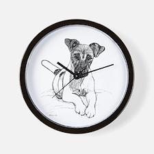 Smooth Fox Terrier Wall Clock