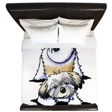 Playful Havanese King Duvet