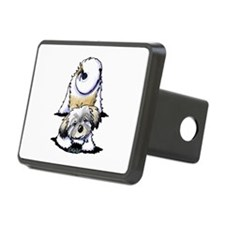 Playful Havanese Hitch Cover
