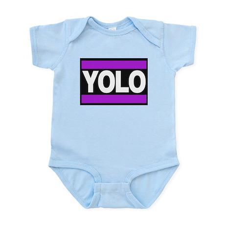 yolo1 purple Body Suit