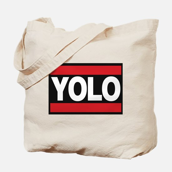 yolo1 red Tote Bag