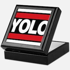 yolo1 red Keepsake Box