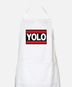 yolo1 red Apron