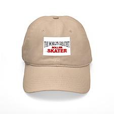 """""""The World's Greatest Roller Skater"""" Baseball Cap"""