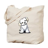 Havanese Canvas Tote Bag