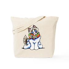 Ragdoll Scarf Tote Bag