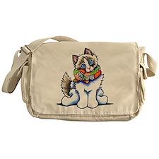 Ragdoll Scarf Messenger Bag