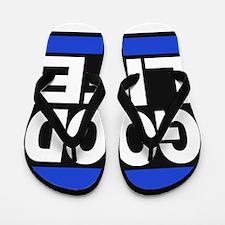 good life blue Flip Flops
