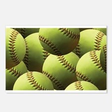 Softball Wallpaper Postcards (Package of 8)