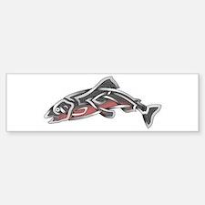 Salmon Bumper Bumper Bumper Sticker