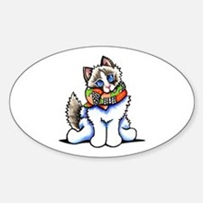 Ragdoll Scarf Decal