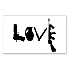 Love Weapons Decal