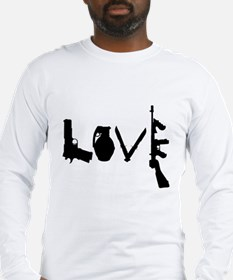 Love Weapons Long Sleeve T-Shirt