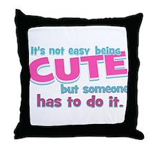 Silly Cute Throw Pillow