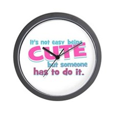 Silly Cute Wall Clock