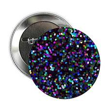 """2.25"""" Button (10 pack) Mosaic Glitter 1"""