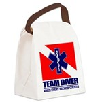 ERT Team Diver Canvas Lunch Bag