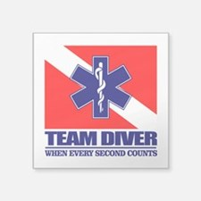 ERT Team Diver Sticker
