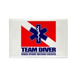ERT Team Diver Rectangle Magnet (10 pack)