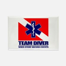 ERT Team Diver Rectangle Magnet
