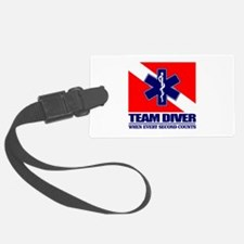 ERT Team Diver Luggage Tag