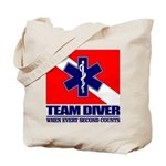 ERT Team Diver Tote Bag